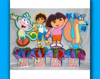 Dora birthday party Etsy