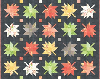 Maple Charm PAPER Quilt Pattern #132