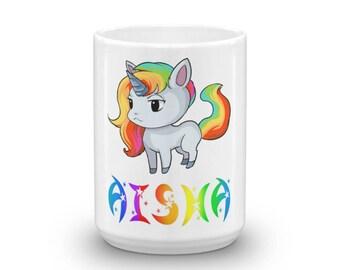 Aisha Unicorn Mug