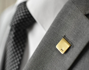 Personalized Brass Lapel Pin
