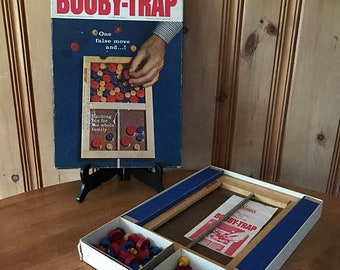 ON SALE 1960's Parker Bros Booby Trap Game
