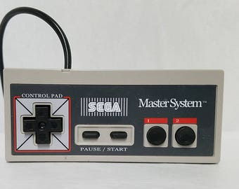 Sega Master system controller with pause button
