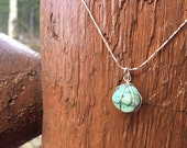 Handmade Turquoise and Si...