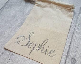 SALE - Mini draw string bag for Sophie