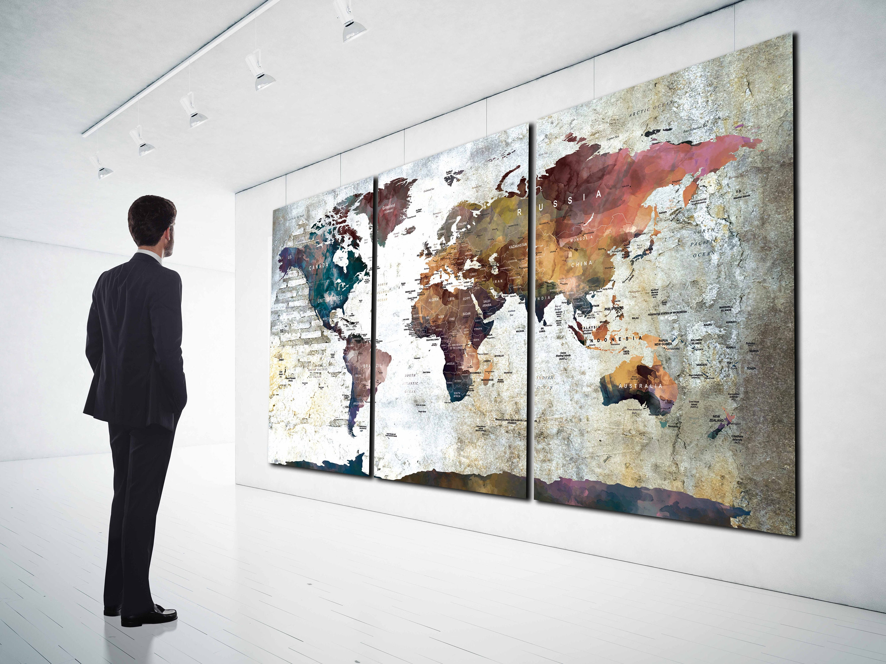 World map wall art large canvas print world map wall art world map world map wall art large canvas print world map wall art world map canvas world map push pin world map art world map print world map gumiabroncs Gallery