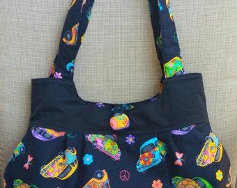 Women's purse, VW Beetle Purse,Handbags,shoulder bag,black,women's accessories,handbags and purses