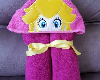 Princess Pea Daria  Hooded Towel