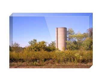 The Silo Acrylic Block