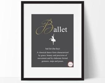 Ballet Wall Print_0058WP