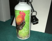 Banty Rooster Water Bottle - Aluminum - 20 Oz
