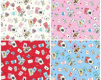 Alice in Wonderland L collection by Lecien- Lolita Alice Cards L40519, select cut and color