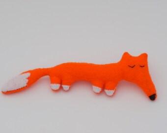 Lovely handmade felt fox brooch, orange, pin, gift idea, cute, accessories, present, funny, beautiful
