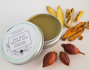 Red Hot Relief Rub - Cooling Relief for Pain & Inflammation