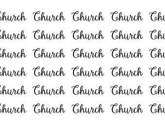 Church Wordy Icons WI0044