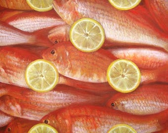 Settebello - Original Fish Painting | Unique Fine Art by Roberto Rizzo