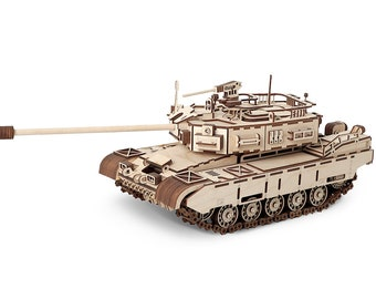 """Tank """"Cayman"""" 3D Puzzle wood toy"""