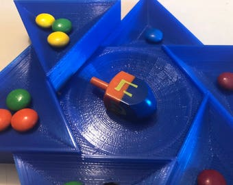 Rising Star of David Dreidel Game Board