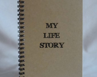 My Life Story Journal, Notebook