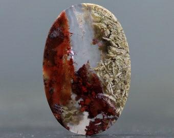 Moss Agate Stone Cabochon Natural Gemstones (V4284)