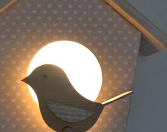 Lamp Apply House of Birds hearts
