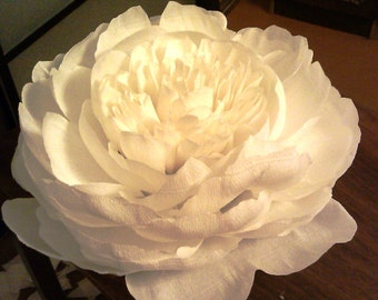 Paper Peony-Giant Paper Peony-Single Paper Flower-Wedding Decoration-Wedding Bloom-Giant Paper Flower-Event Decoration-Peony Flower