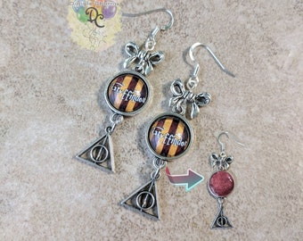 Wizard House Earrings