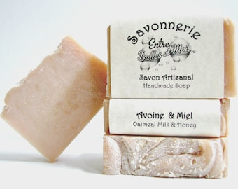 Oats and Honey handmade soap-Gift