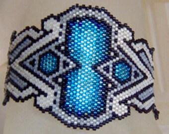 Carmaeletta - Brick Stitch Beading Pattern