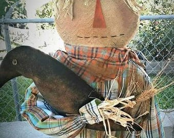 Scarecrow Stake - Pattern Only