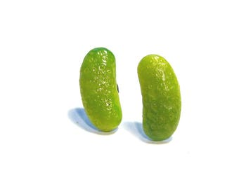 Sweet Pickle Earrings