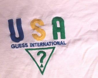Vintage Guess USA Pink Color