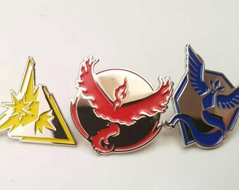 pokemon go team pins badge