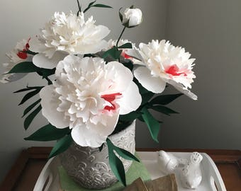 Perfect forever paper peony set of 3
