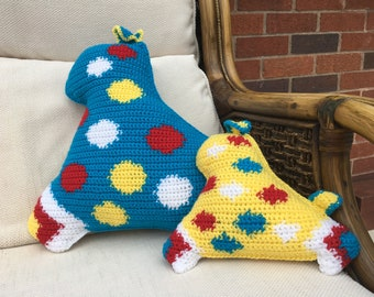 Bailey - the colourful crochet dog cushion kit