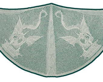 A Wisdom of Dragons, a Lace Knitting  Pattern - PDF