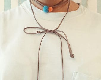 Wrap and Tie Necklace