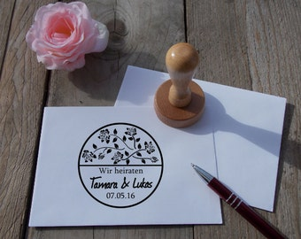 """Wedding Stamp """"For the Tears of Joy"""", Personalized/wedding"""