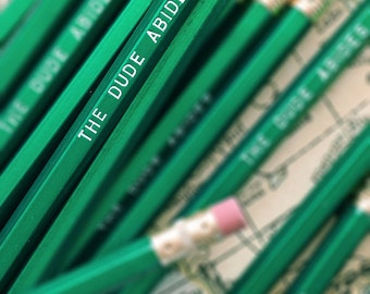 The Dude Abides Pencil 6 Pack - As seen on Cool Mom Picks