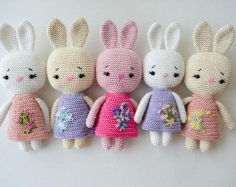 Crochet BUNNY, Pattern, PDF, English and German