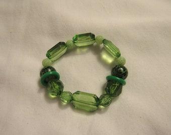 Shades of Green #2 bracelet