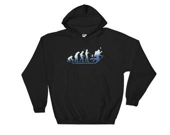 Evolution Of Man Scuba Diving Hoodie