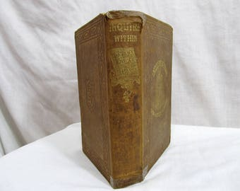 Inquire Within for Anything You Want to Know; or Over Three Thousand Seven Hundred Facts Worth Knowing 1858 Hardcover Book Fact Reference