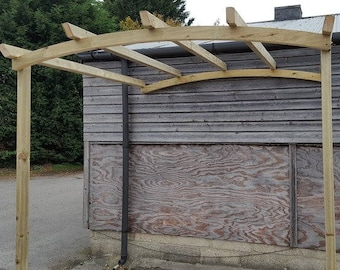 Pergola Arched Lean To