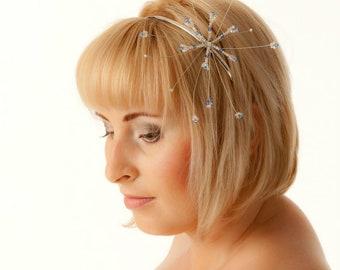 Bridal Headband Starburst Wedding Hair Accessories made with Swarovski Crystals