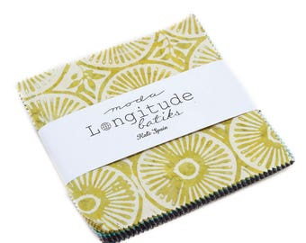 Longitude Batiks (27259PP) by Kate Spain - Charm Pack