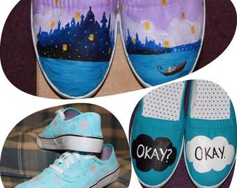 Custom Hand painted sneakers