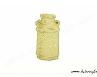 Bottle of milk, made of medium size 5cm