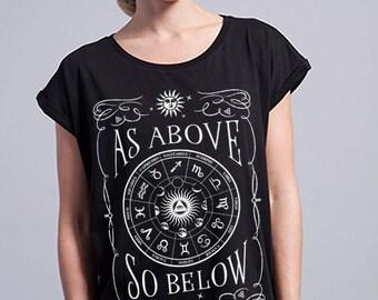 Yoga Tshirt - Zodiac t-shirt