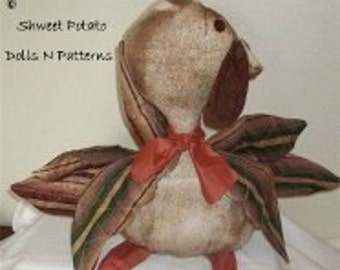 Primitive Thanksgiving Cloth Turkey Cloth Doll