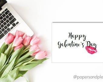 DIGITAL FILE - Happy Galentine's Day Card | Valentine's Day Card | Girlfriends Galentine Card | Best Friends Valentine Card